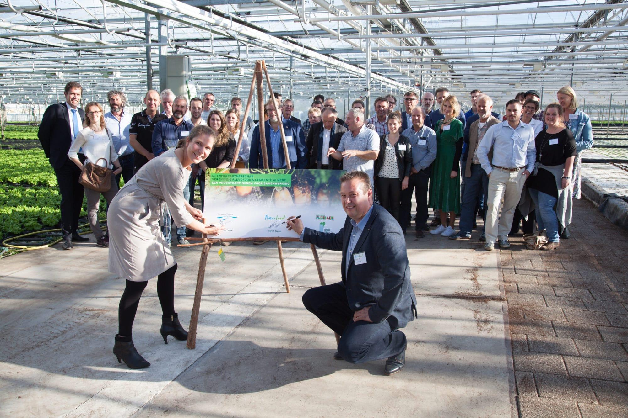 Gemeente Almere nieuwste netwerkpartner van Vereniging Flevofood